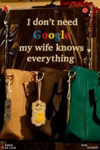 My wife is Google