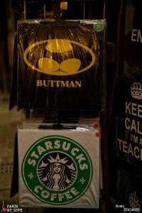 Buttman and Starsucks
