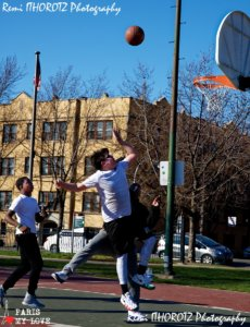 Basket session at Wicker Park Chicago