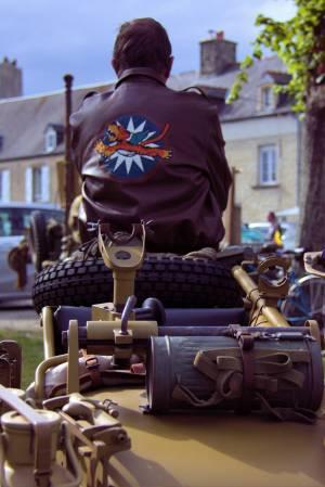 D-Day motorbike
