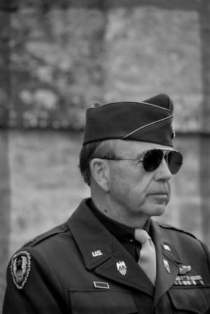 D-Day officer
