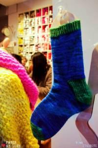 Ma chaussette est prête pour NoelMy sox is ready for XMas