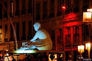 LYON - Fete des Lumieres 2017 - Place Louis Pradel