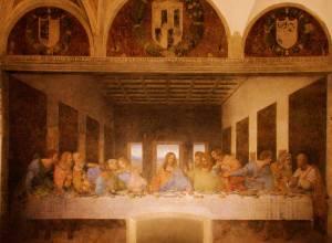 Le dernier Repas par Da VinciThe last Supper by Da Vinci