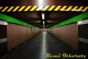 Metro, espace vide ...Metro, empty space ..