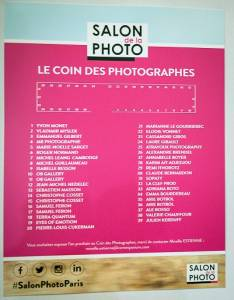 SALON DE LA PHOTO 2017