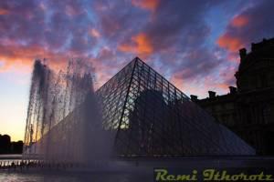 Quand Ramses rencontre Louis XIV / When Ramses meets Louis XIVth / (Louvre - PARIS)