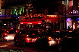 Bouchon  de jour et de nuitNight Traffic Jam