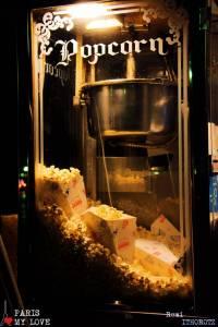 Pop-corn warp machine