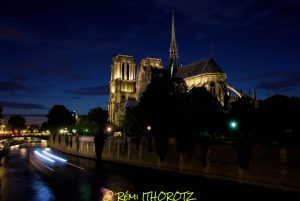 NOTRE-DAME by night