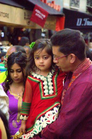 Indian Celebration at Les Halles