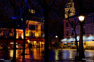 Soir d'Hiver à Montmartre